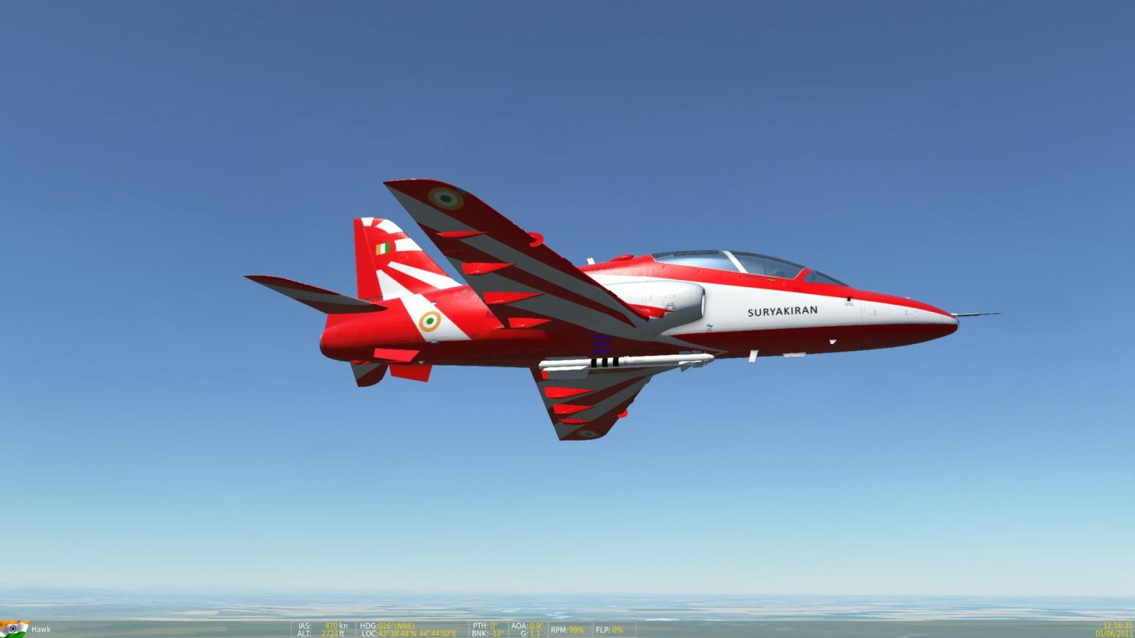 surya kiran demo team (indian air force)