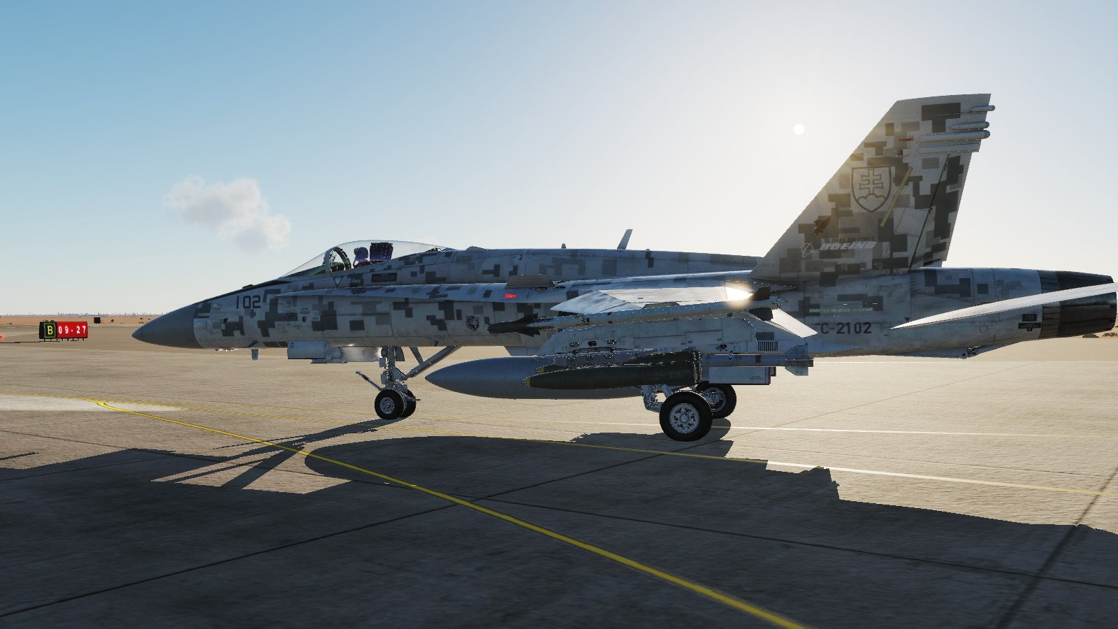 F/A-18 Fictional Slovak Air Force AVS (alliance of virtual squadrons)