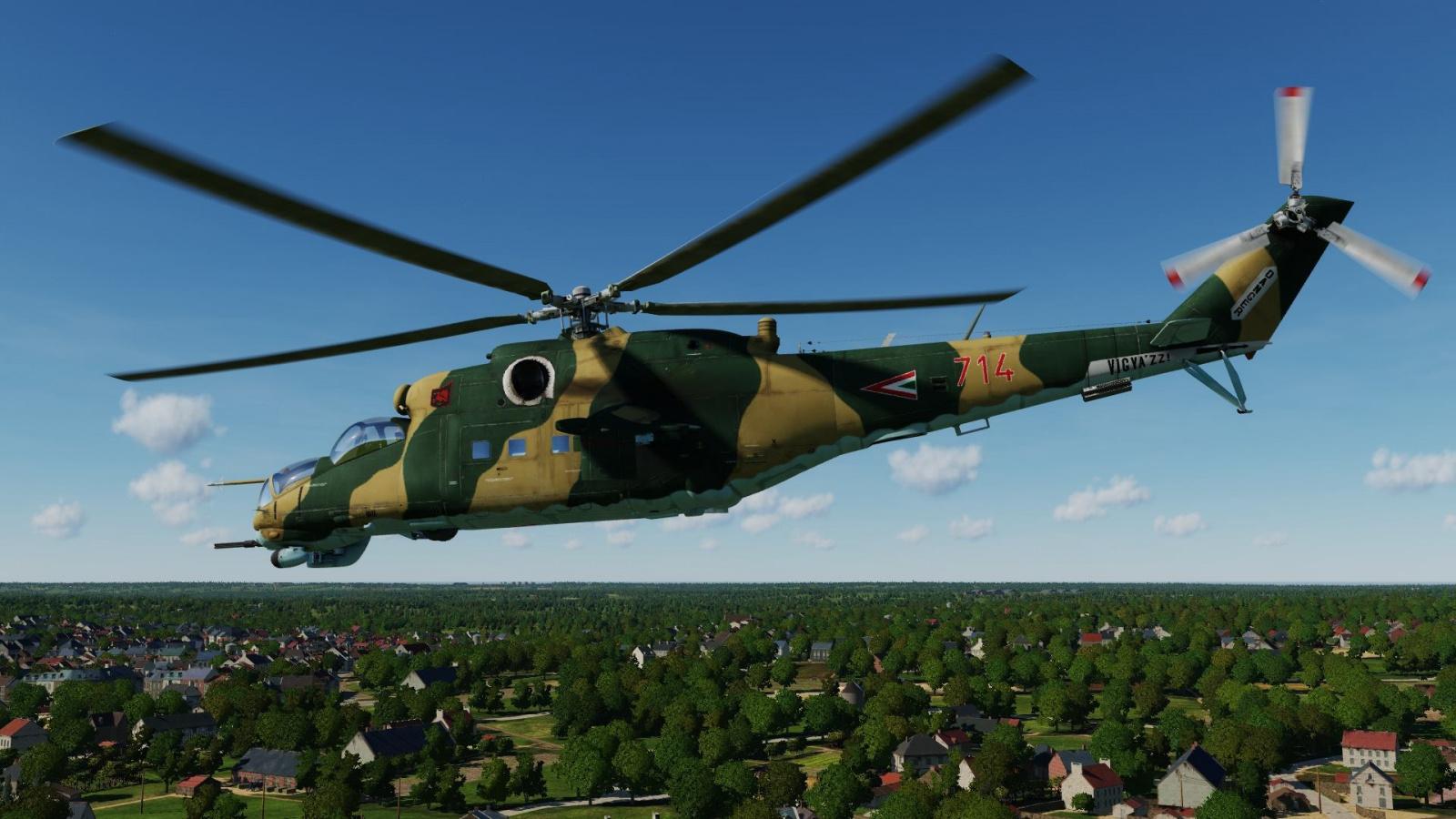 Mi-24 - Hungarian Air Force