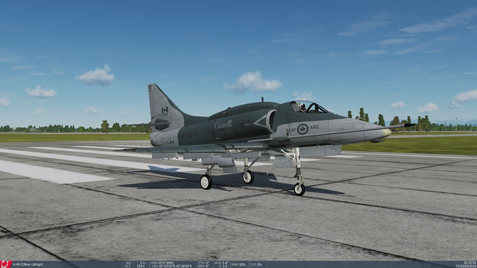 Fictional RCAF A-4E-C 425th squadron