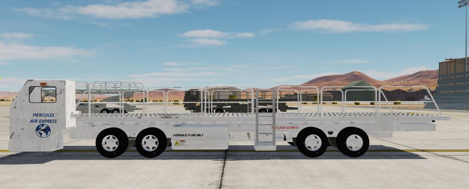 Hercules Air Express Material Handling Equipment (MHE) 40K Loader Mod V1.2