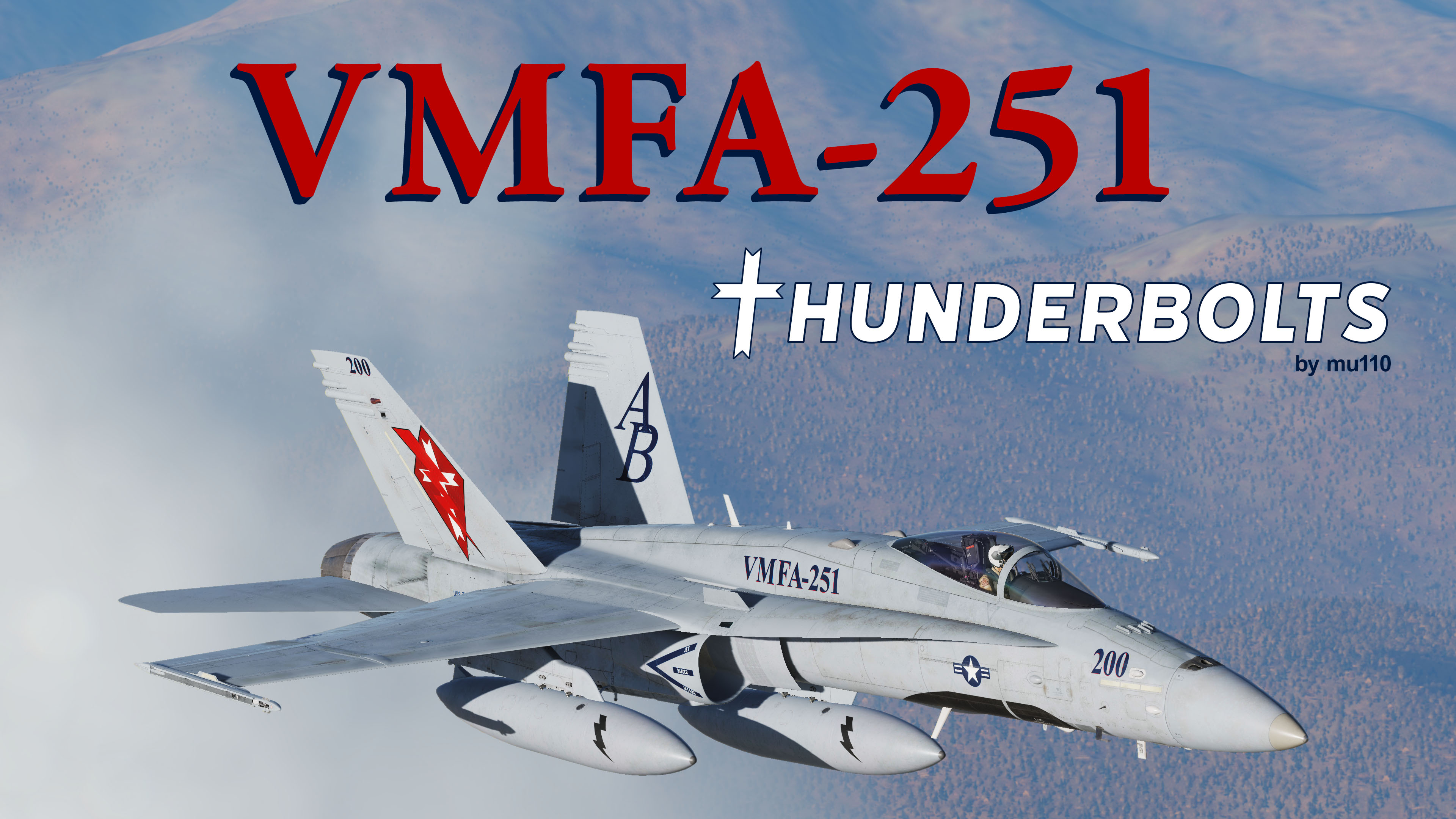 VMFA-251 Thunderbolts Skin Pack! [Updated]