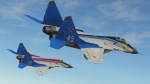 MiG-29 Strizhi Aerobatic Team