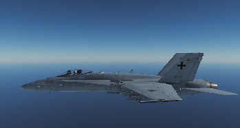 F-18C German Airforce Skin