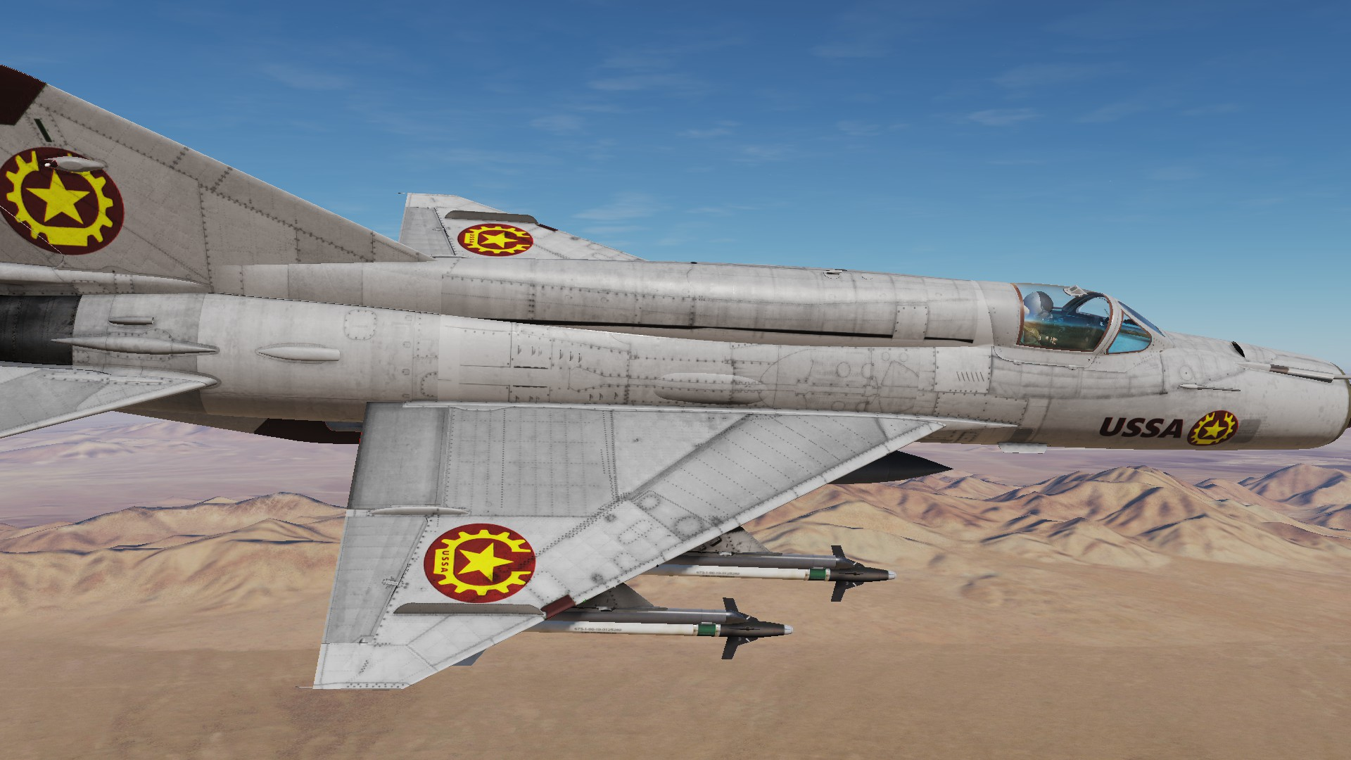 USSA F-110D Livery for MiG-21bis