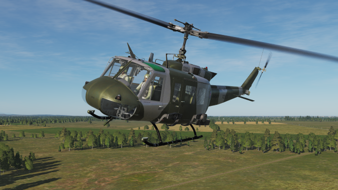 UH-1H British Army Air Corps Skin