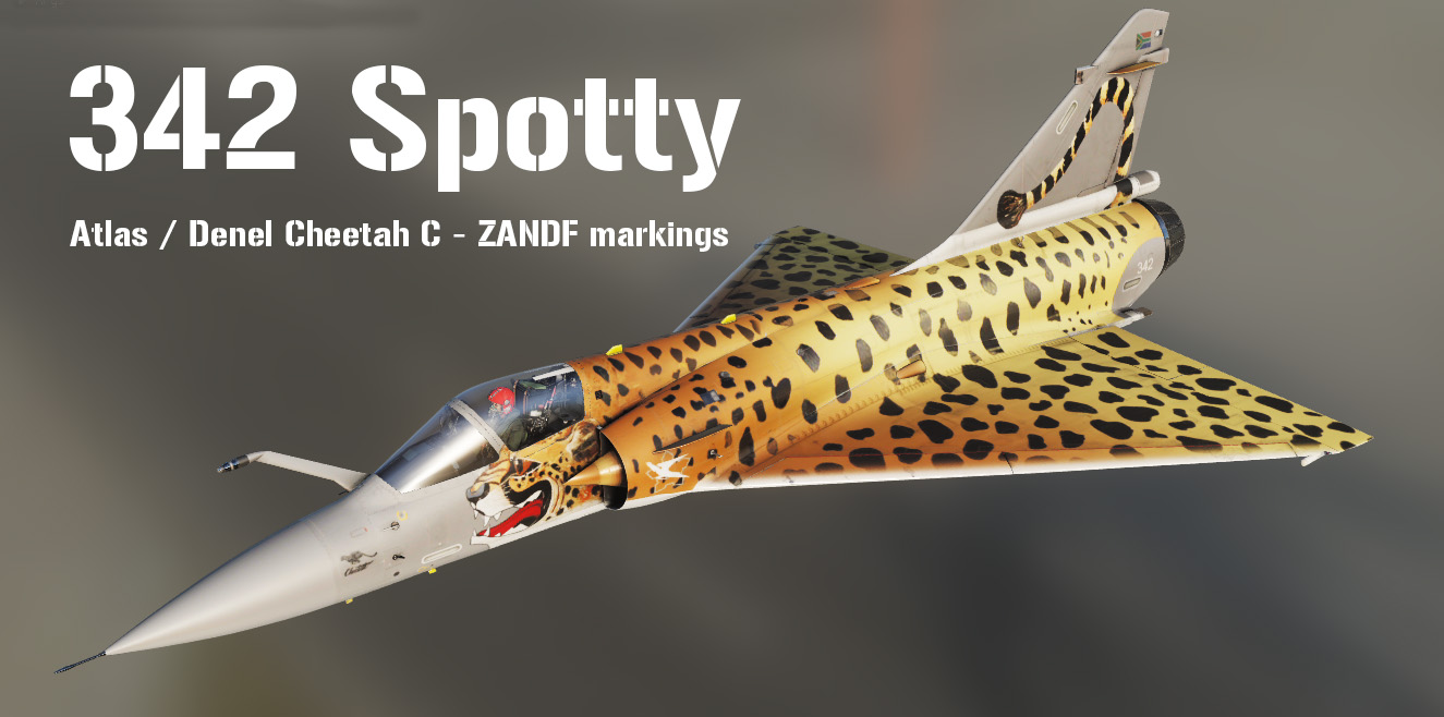 "342 ""Spotty"" Cheetah C  Mirage 2000C (v1.5)"