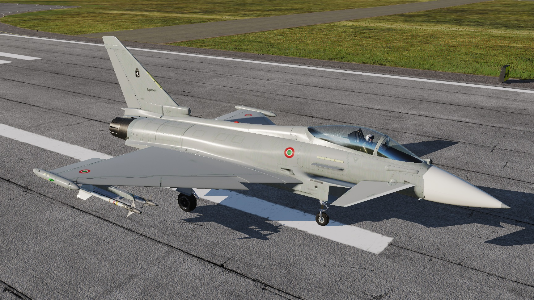 Italian Air Force Eurofighter