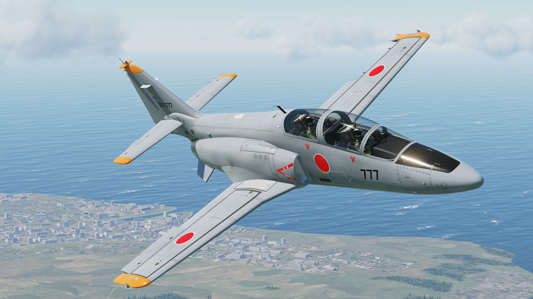 Fictional - JASDF - C-101 T-4 skin