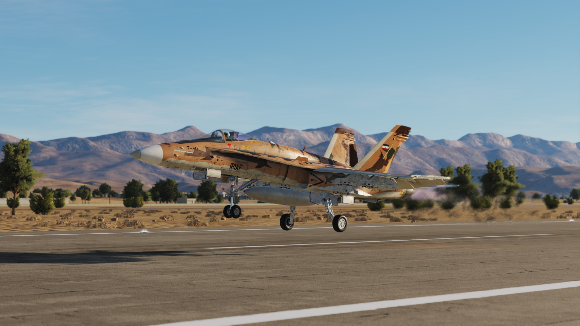 F/A-18C Fictional Iranian air force
