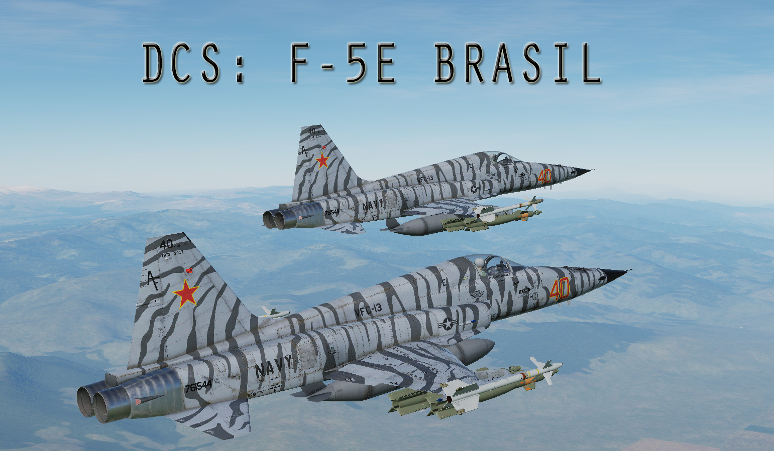 F-5E BRASIL - Training GBU-12 With JTAC