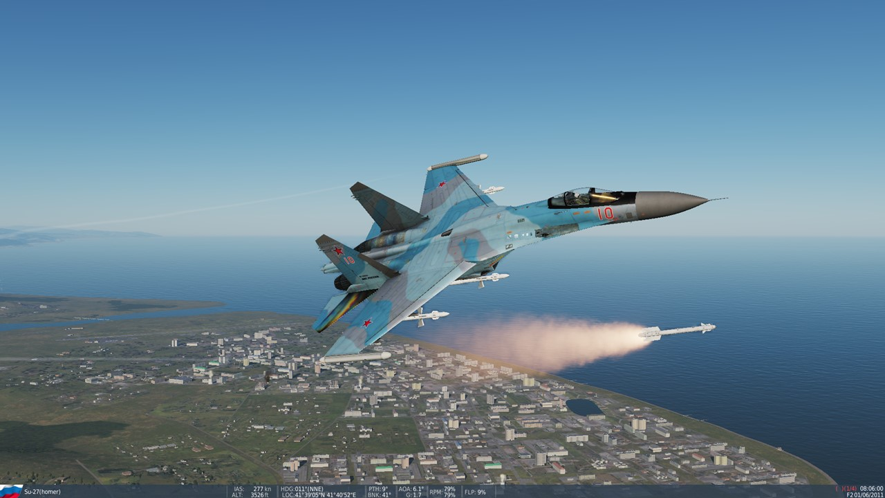 russian airforce Su-35 skin for Su-27