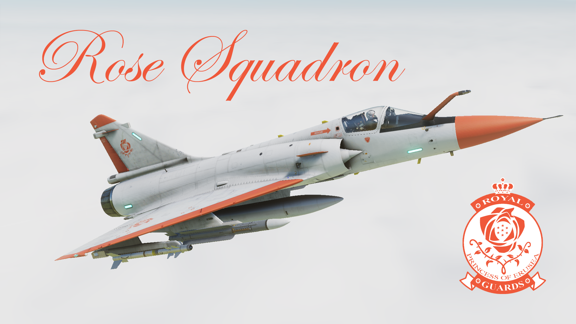 Kingdom of Erusea, 3rd Royal Guard Regiment Mirage 2000C