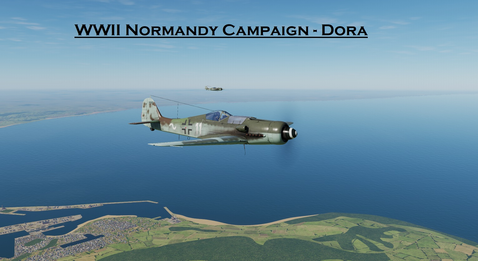 WWII Normandy FW-190D9 using Mbot Dynamic Campaign Engine