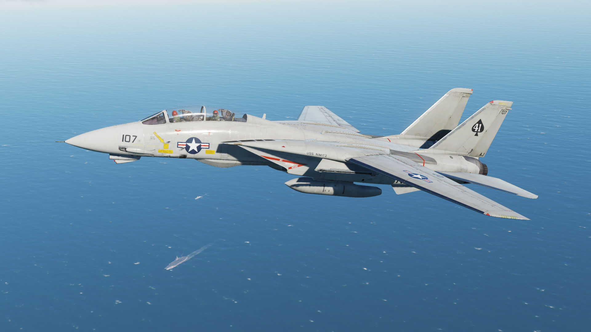 F-14A VF-41 Black Aces 1979