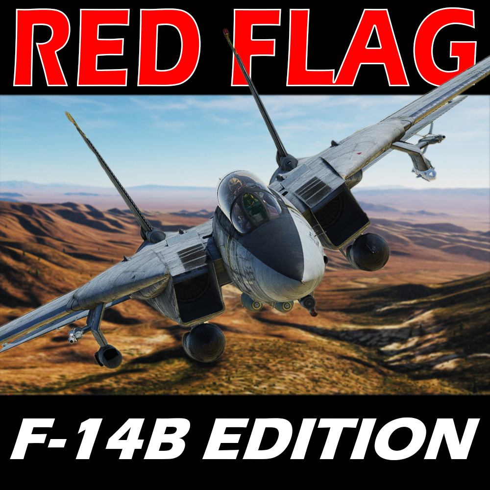 RED FLAG - A F-14 Tomcat Mission 1 by SEDLO (version 2.2 March 10, 2021)