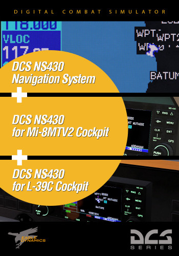 NS 430 for the Mi-8MTV2, L-39 and Pop-up Window
