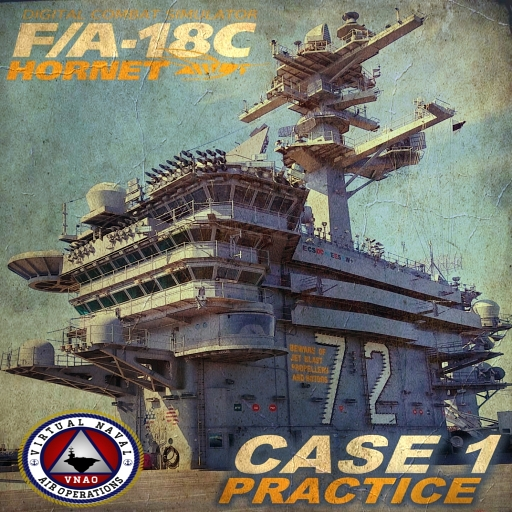 DCS Hornet Case 1 Practice:(Updated for the DCS Super Carrier)