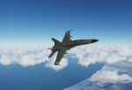 Green Finnish F-18C
