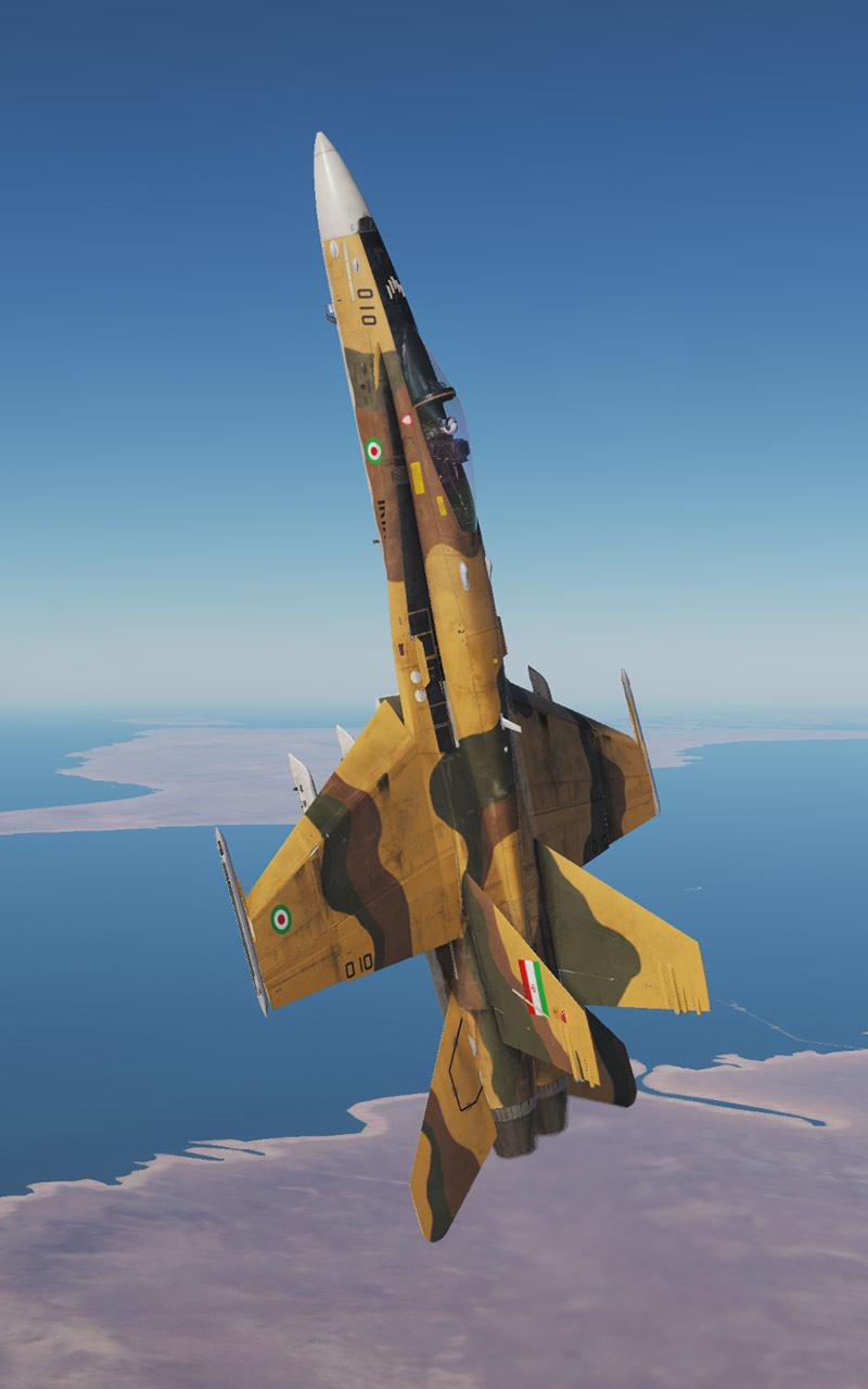 F-18 Racing Livery: UPS