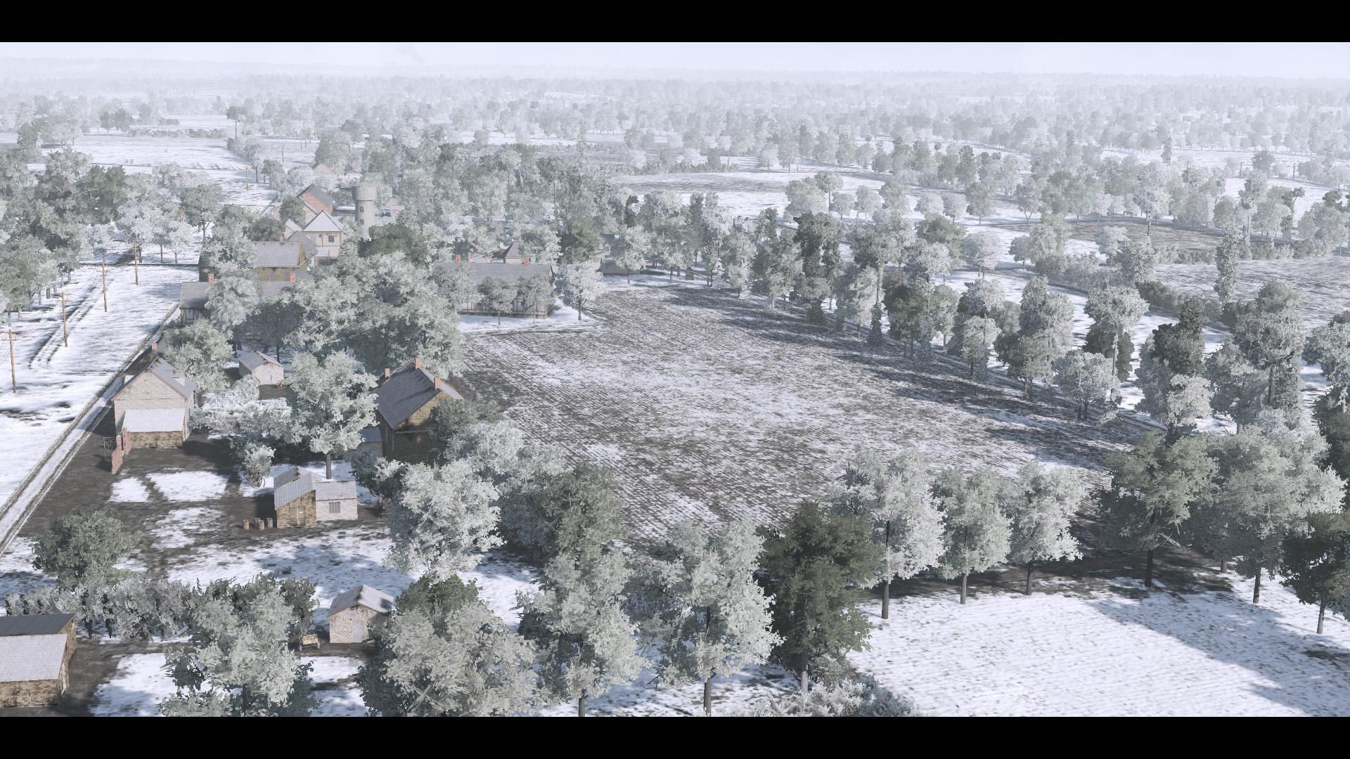 Mod Map Normandie en hiver 2