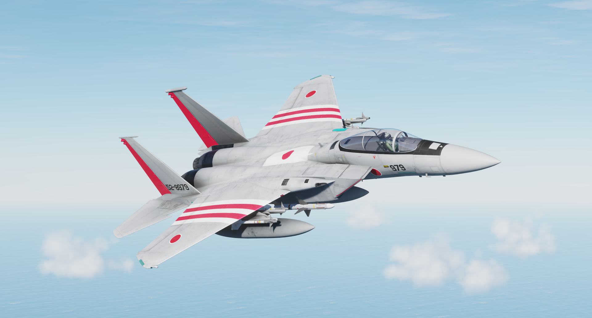 Fictional - JASDF - Special markings - 52-8979
