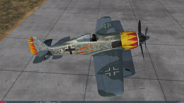 FW 190 A-8 Skin based on Hermann Grafs JG 52 A-5