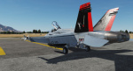 "Fictitious F/A-18C Lot 20 ""Queen Anne's Revenge"" Livery"