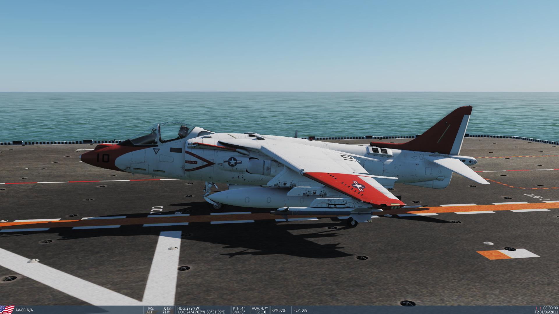 USN Harrier Traing Livery