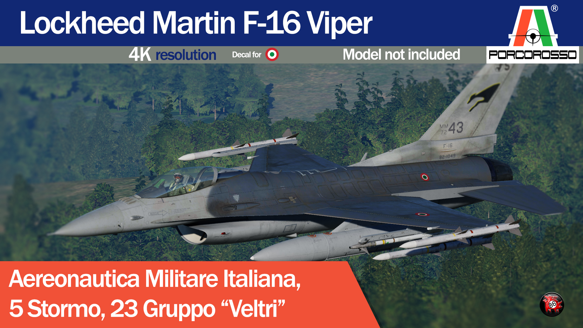 F-16 Italian Air Force, 5 Stormo 23 Gruppo UPDATE