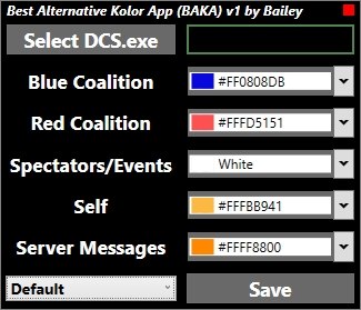 Best Alternative Kolor App (BAKA) by Bailey