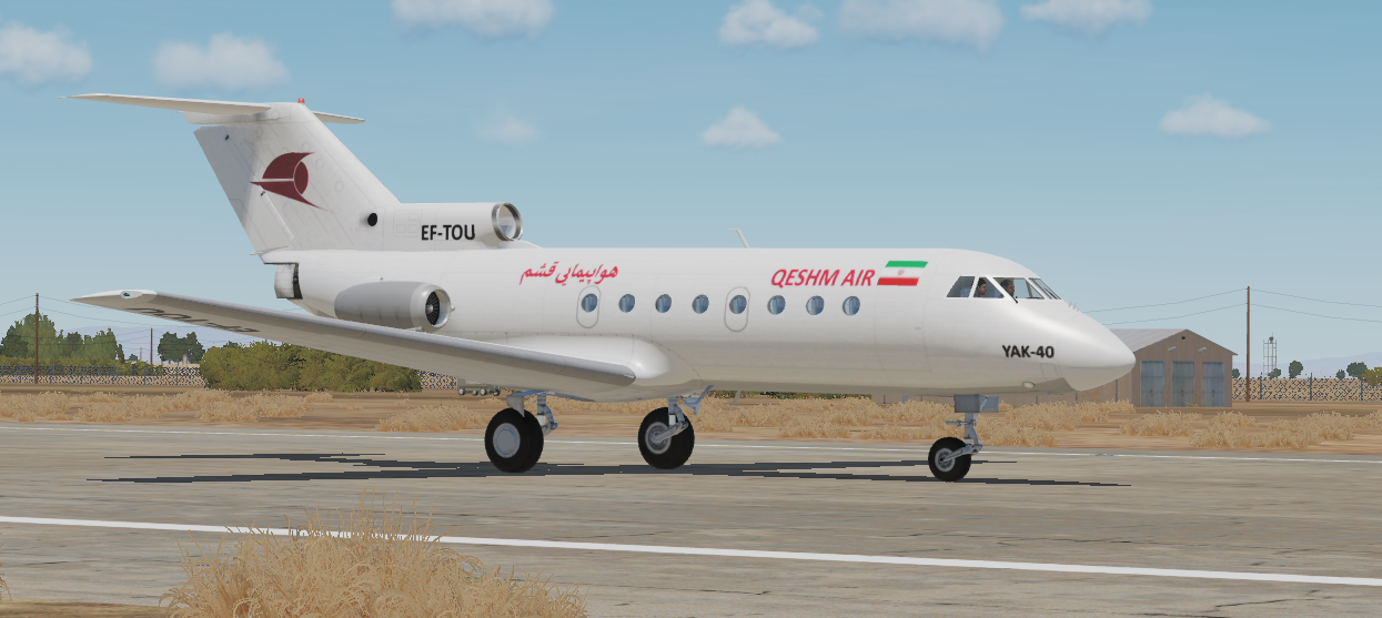 YAK-40 Qeshm Air *Updated 23.02.19*
