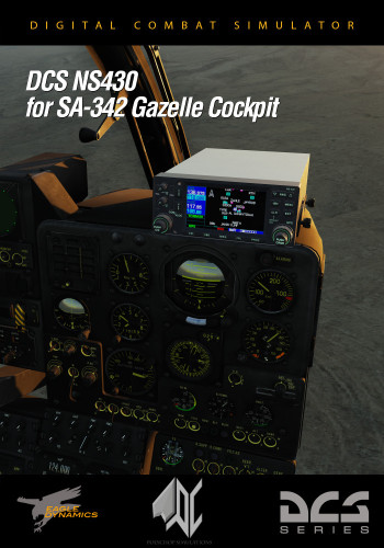DCS: NS 430 Navigation System for SA342 Gazelle