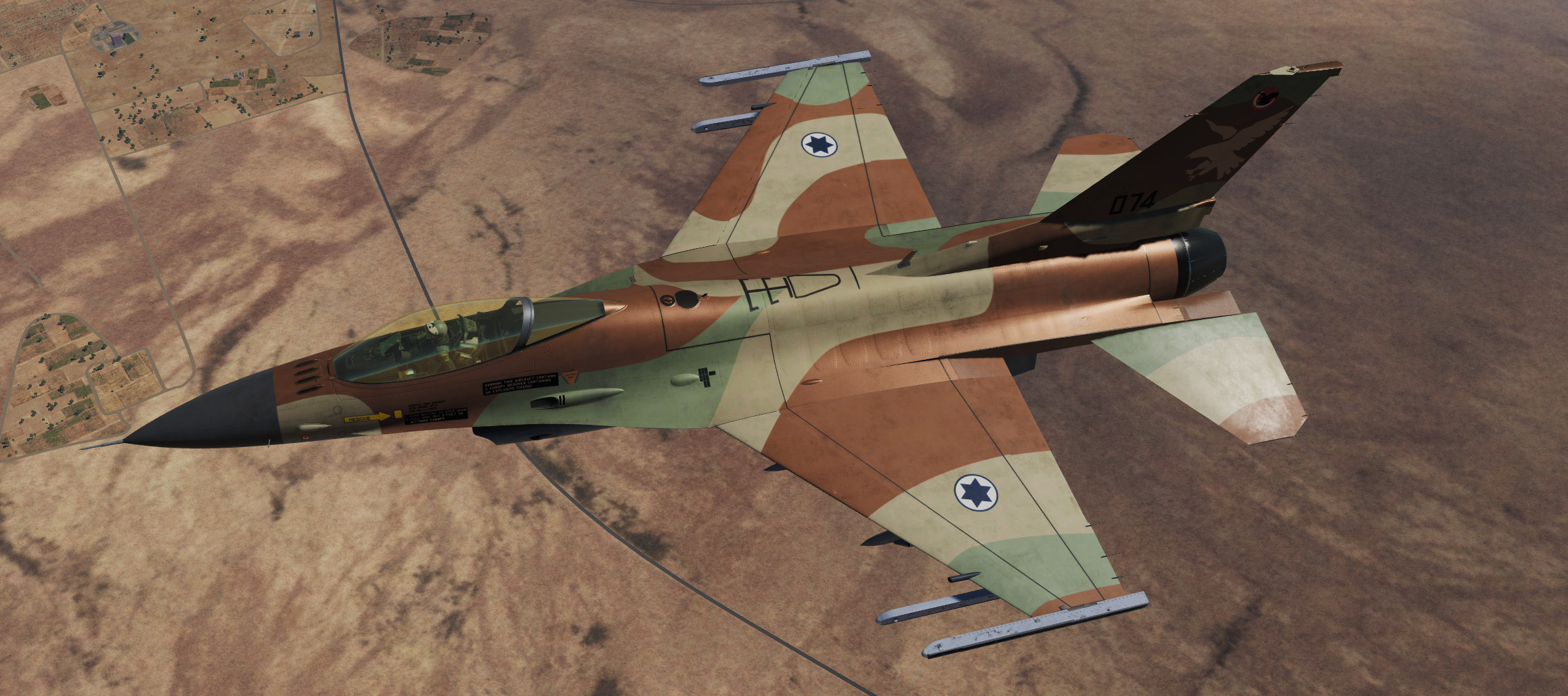F-16C : Israeli Air Force 109th Squadron (The Valley) - 074