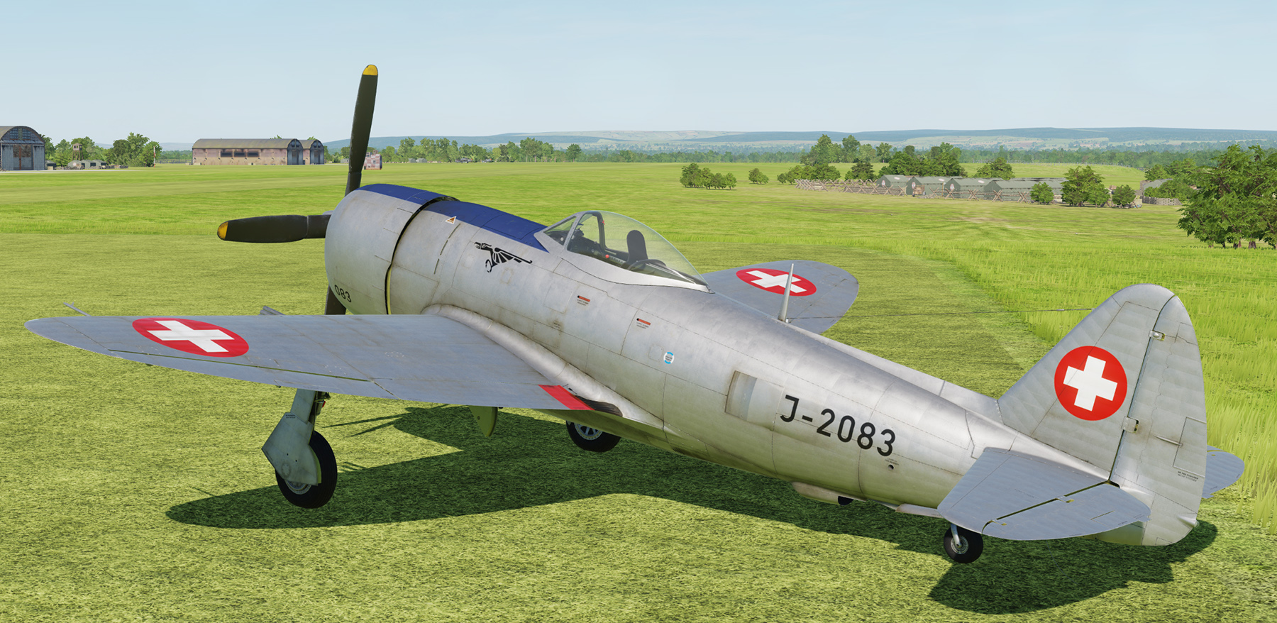 P-47D Swiss Air Force