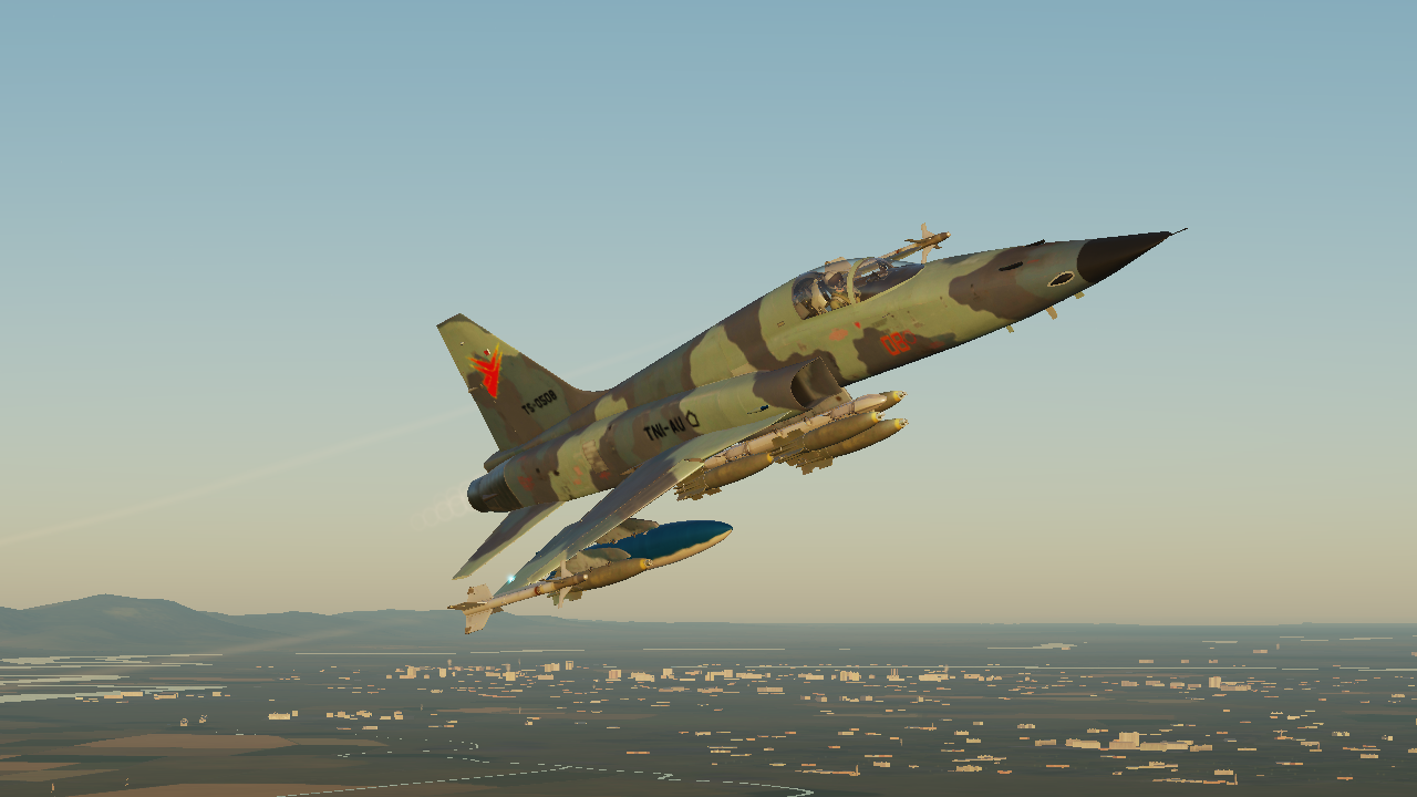 Indonesian Air Force F-5E Tiger Modern Livery(UPDATED)