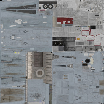 Texture template for F/A-18C lot 20 model