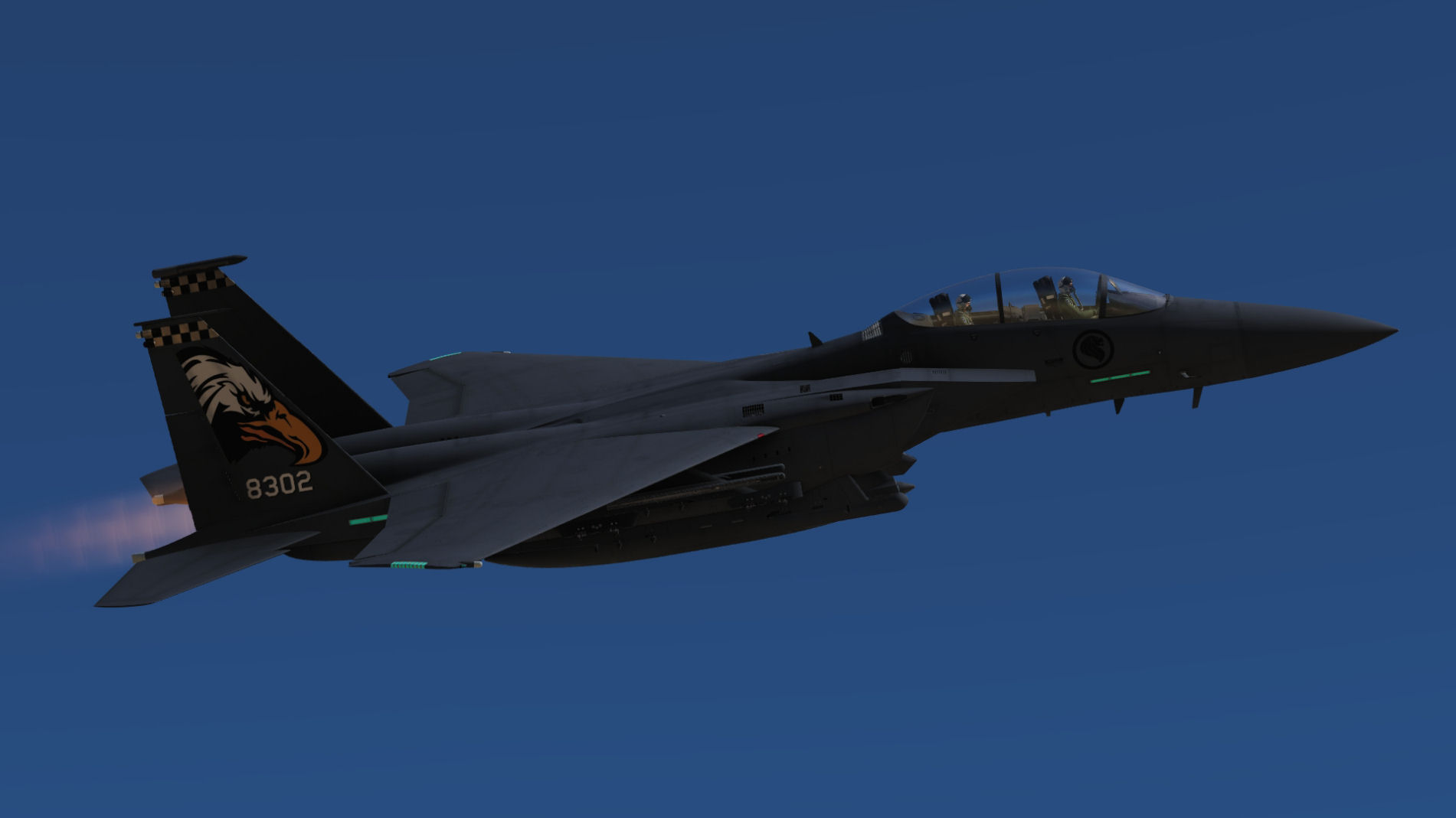 RSAF, 149th Squadron, 4x F15E ( fictional representing F-15SG's) Pack 2 of 3.