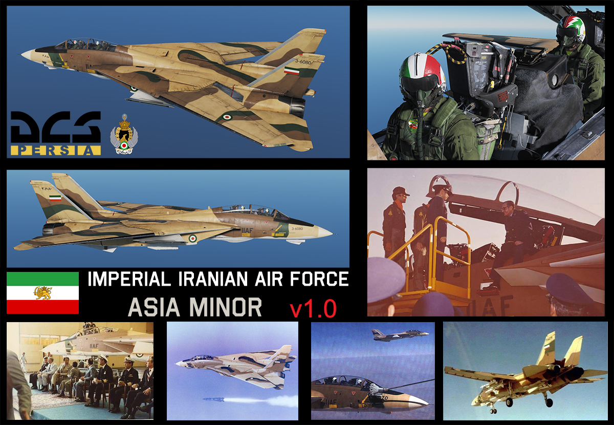 F-14B(A) Asia Minor Imperial Iranian Air Force [3-6080] (Fictional) v.1.0