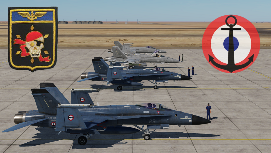 [Fictional ]F/A-18C Lot20 - French Navy - Flottille 14F Skins - Version 2 - UPDATED