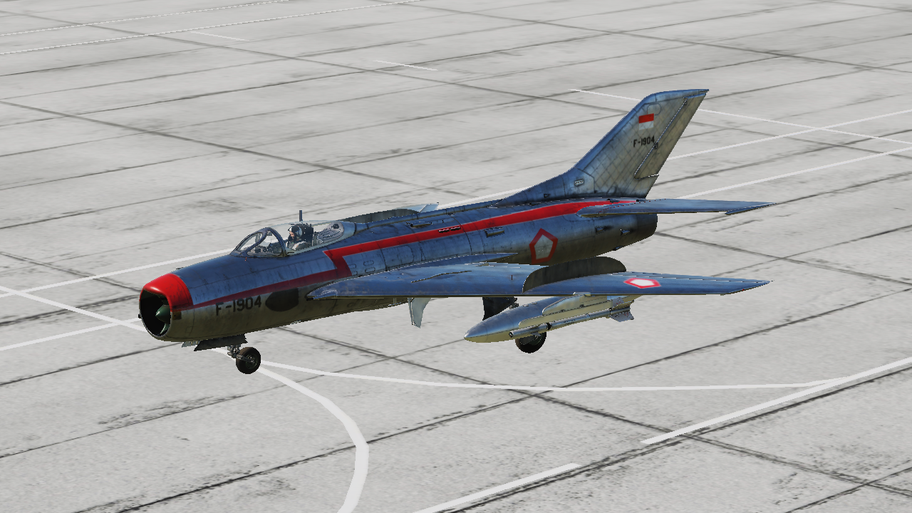 MiG-19P Farmer Indonesian Air Force (AURI) Skin