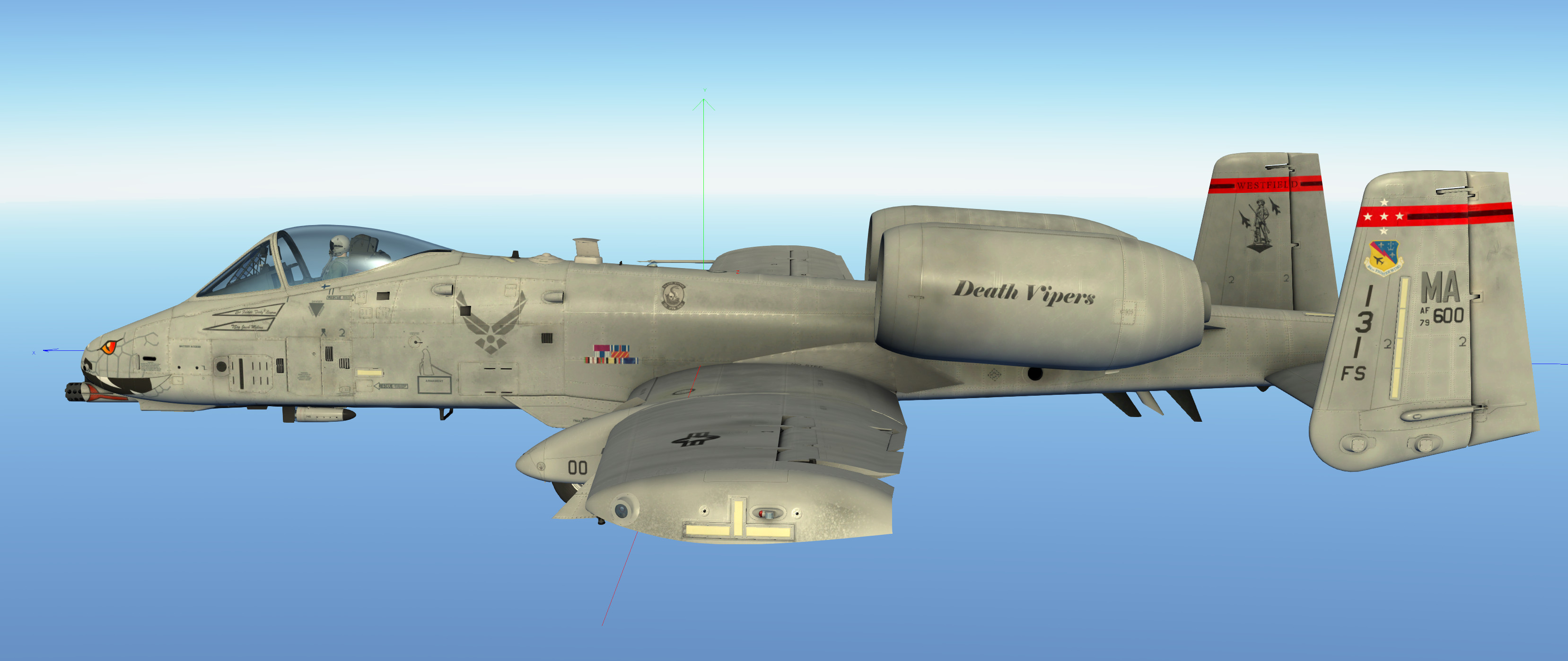 131st Fs Quot Death Vipers Quot Ma Ang Fictional A10c Skin