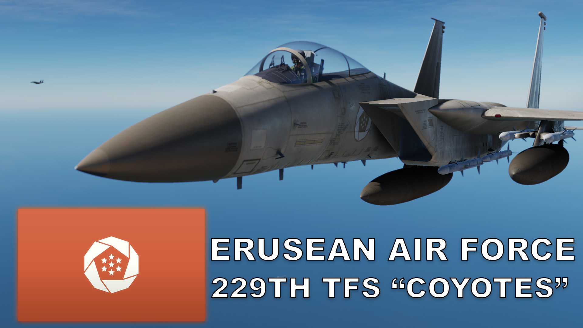 "Ace Combat Erusean Air Force F-15C: 229th TFS ""Coyotes"""