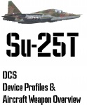 DCS Su-25T Input Device and Weapon Overview