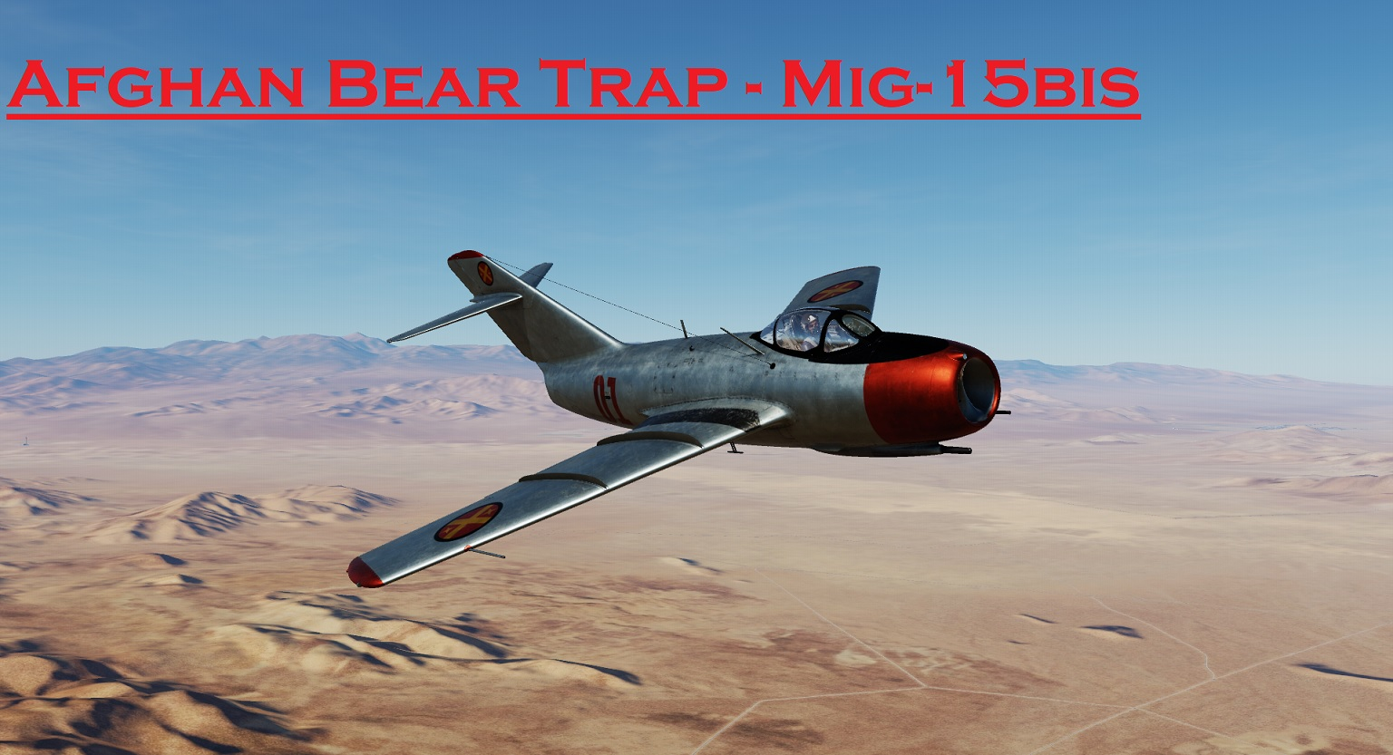 Afghan Bear Trap - Mig-15 using Mbot Dynamic Campaign Engine