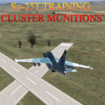 Su-25T Cluster Munition Training
