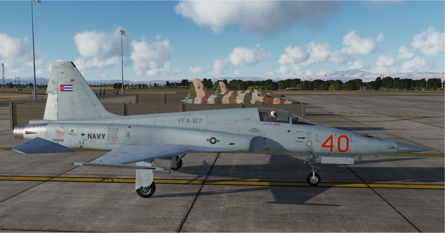 "VFA-127 ""Cylons"" '40' ver1.1 UPDATED"