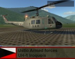 Ustio Armed forces Uh-1H pack - Ace Combat Zero