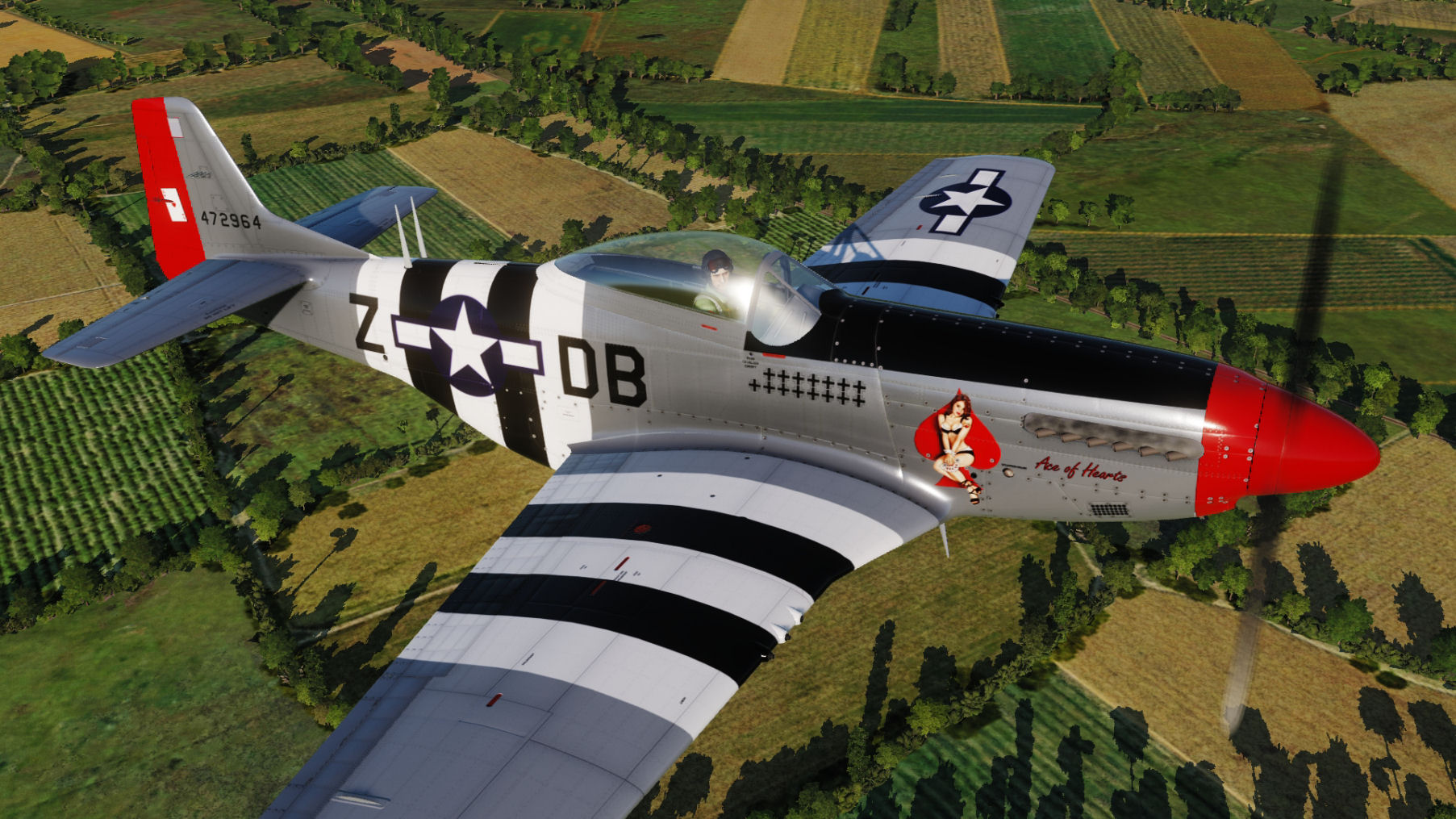 "USAF - ""Ace of Hearts"" DB-Z 44-72964 updated for use with DCS World 2.5.5"