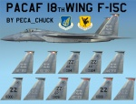 F-15C 18th Wing Skin Pack